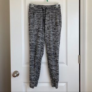 Adidas Black/Gray Twist Knit Joggers